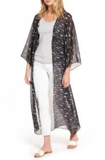 Print Duster Kimono